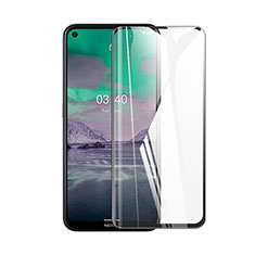 Ultra Clear Full Screen Protector Tempered Glass for Nokia 3.4 Black