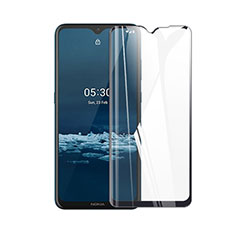 Ultra Clear Full Screen Protector Tempered Glass for Nokia 5.3 Black