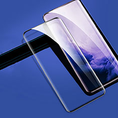 Ultra Clear Full Screen Protector Tempered Glass for OnePlus 7T Pro Black
