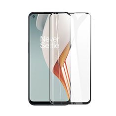 Ultra Clear Full Screen Protector Tempered Glass for OnePlus Nord N100 Black