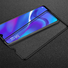 Ultra Clear Full Screen Protector Tempered Glass for Oppo A12 Black