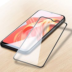 Ultra Clear Full Screen Protector Tempered Glass for Oppo A72 5G Black
