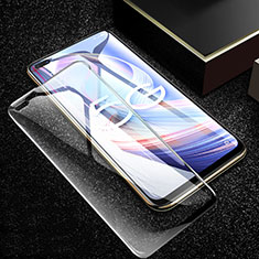 Ultra Clear Full Screen Protector Tempered Glass for Oppo A92s 5G Black