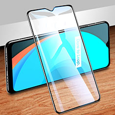 Ultra Clear Full Screen Protector Tempered Glass for Realme C11 Black