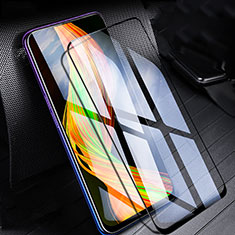 Ultra Clear Full Screen Protector Tempered Glass for Realme X Black