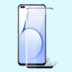 Ultra Clear Full Screen Protector Tempered Glass for Realme X50m 5G Black