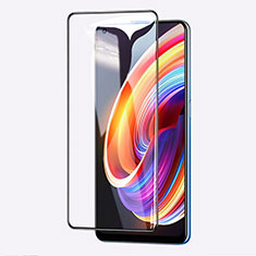 Ultra Clear Full Screen Protector Tempered Glass for Realme X7 Pro 5G Black