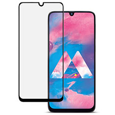 Ultra Clear Full Screen Protector Tempered Glass for Samsung Galaxy A30S Black