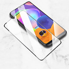 Ultra Clear Full Screen Protector Tempered Glass for Samsung Galaxy A31 Black