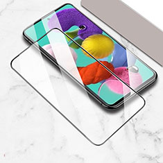 Ultra Clear Full Screen Protector Tempered Glass for Samsung Galaxy A51 5G Black