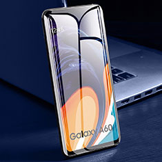 Ultra Clear Full Screen Protector Tempered Glass for Samsung Galaxy A60 Black