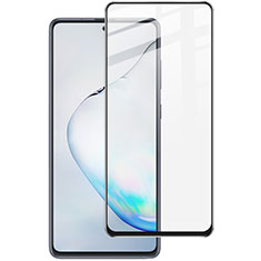 Ultra Clear Full Screen Protector Tempered Glass for Samsung Galaxy A81 Black