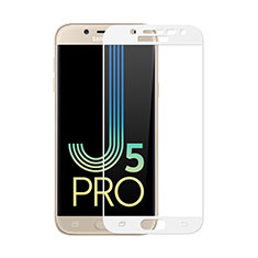 Ultra Clear Full Screen Protector Tempered Glass for Samsung Galaxy J5 (2017) SM-J750F White