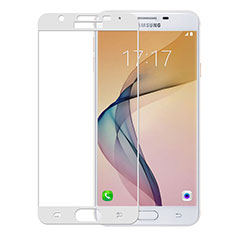 Ultra Clear Full Screen Protector Tempered Glass for Samsung Galaxy J5 Prime G570F White