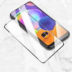 Ultra Clear Full Screen Protector Tempered Glass for Samsung Galaxy M21 Black