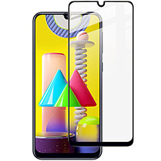 Ultra Clear Full Screen Protector Tempered Glass for Samsung Galaxy M31 Black