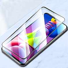 Ultra Clear Full Screen Protector Tempered Glass for Samsung Galaxy M51 Black