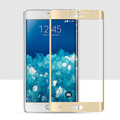 Ultra Clear Full Screen Protector Tempered Glass for Samsung Galaxy Note Edge SM-N915F Gold