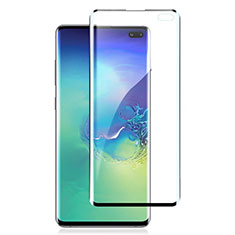 Ultra Clear Full Screen Protector Tempered Glass for Samsung Galaxy S10 5G SM-G977B Black