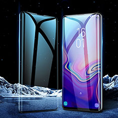 Ultra Clear Full Screen Protector Tempered Glass for Samsung Galaxy S10 Black