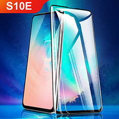 Ultra Clear Full Screen Protector Tempered Glass for Samsung Galaxy S10e Black