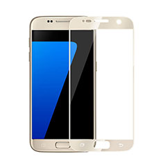 Ultra Clear Full Screen Protector Tempered Glass for Samsung Galaxy S6 SM-G920 Gold