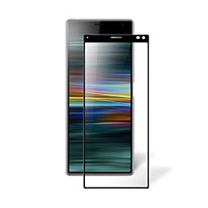 Ultra Clear Full Screen Protector Tempered Glass for Sony Xperia 8 Lite Black