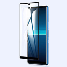Ultra Clear Full Screen Protector Tempered Glass for Sony Xperia L4 Black