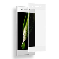 Ultra Clear Full Screen Protector Tempered Glass for Sony Xperia XA1 White