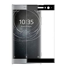 Ultra Clear Full Screen Protector Tempered Glass for Sony Xperia XA2 Black