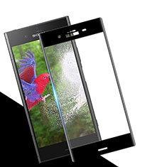 Ultra Clear Full Screen Protector Tempered Glass for Sony Xperia XZ1 Black