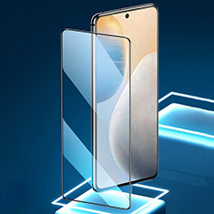 Ultra Clear Full Screen Protector Tempered Glass for Vivo X60 5G Black