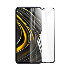 Ultra Clear Full Screen Protector Tempered Glass for Xiaomi Poco M3 Black