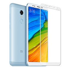 Ultra Clear Full Screen Protector Tempered Glass for Xiaomi Redmi Note 5 Indian Version White