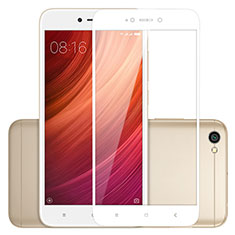 Ultra Clear Full Screen Protector Tempered Glass for Xiaomi Redmi Note 5A Standard Edition White