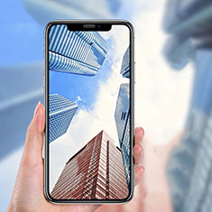 Ultra Clear Full Screen Protector Tempered Glass P04 for Apple iPhone X Black