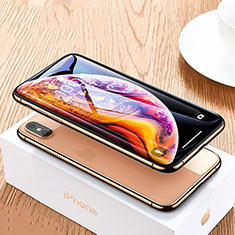 Ultra Clear Full Screen Protector Tempered Glass P06 for Apple iPhone Xs Black