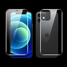 Ultra Clear Screen Protector Front and Back Film F01 for Apple iPhone 12 Mini Clear