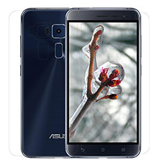 Ultra Clear Screen Protector Front and Back Film for Asus Zenfone 3 ZE552KL Clear