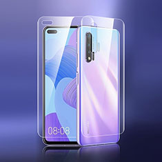 Ultra Clear Screen Protector Front and Back Film for Huawei Nova 6 5G Clear