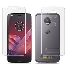 Ultra Clear Screen Protector Front and Back Film for Motorola Moto Z2 Play Clear