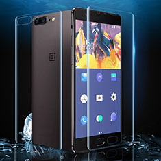 Ultra Clear Screen Protector Front and Back Film for OnePlus 5 Clear