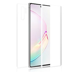 Ultra Clear Screen Protector Front and Back Film for Samsung Galaxy Note 10 Plus Clear