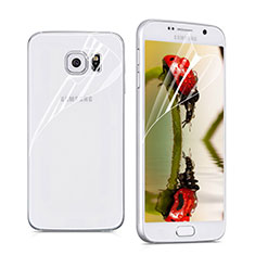Ultra Clear Screen Protector Front and Back Film for Samsung Galaxy S6 SM-G920 Clear