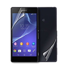 Ultra Clear Screen Protector Front and Back Film for Sony Xperia Z2 Clear