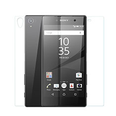 Ultra Clear Screen Protector Front and Back Film for Sony Xperia Z5 Premium Clear