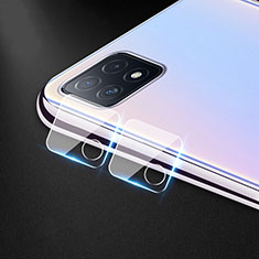 Ultra Clear Tempered Glass Camera Lens Protector for Oppo A73 5G Clear