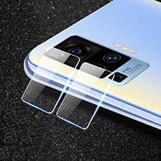 Ultra Clear Tempered Glass Camera Lens Protector for Vivo X51 5G Clear
