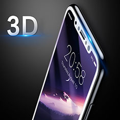 Ultra Clear Tempered Glass Screen Protector Film 3D for Apple iPhone X White