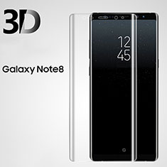 Ultra Clear Tempered Glass Screen Protector Film 3D for Samsung Galaxy Note 8 Clear